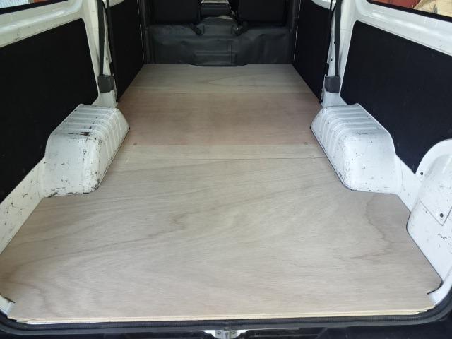 NV350 キャラバンDX 標準ボディ 5ドア/4ドア フロア パネル 【フルサイズ】セカンドシートなし 床 床キット