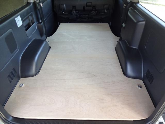 トヨタ 200系 ハイエース S-GL ロング・標準ボディ フロア パネル 【ミドルサイズ】フロアキット 床パネル 収納