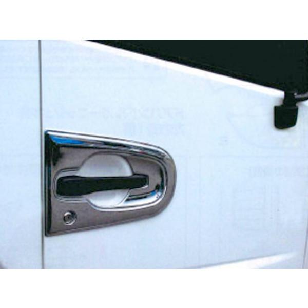 ドアハンドルガーニッシュ R/L UD 日産 トラックス クオン CV-409 トラック 安心高品質の純国産 ヤック製