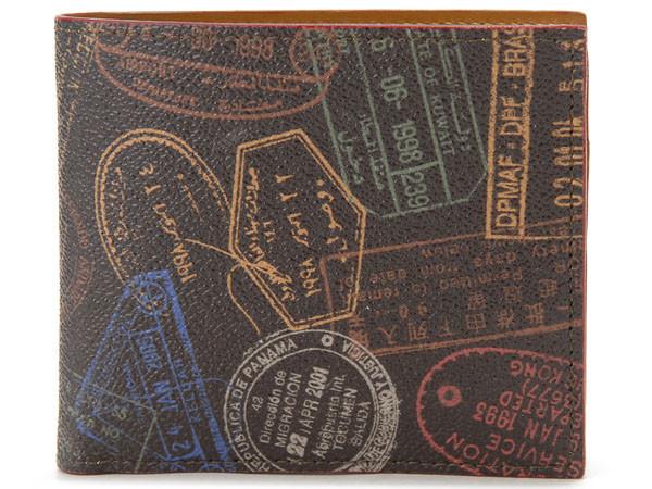 ALV エーエルブイ 二つ折り財布 WB9413-41-602 MOCHA モカ ブラウン メンズ レディース イタリア製 MADE IN ITALY 新品 【送料無料】
