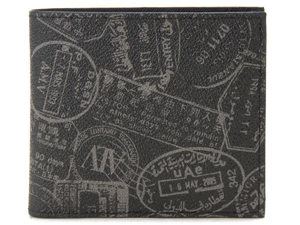 ALV エーエルブイ 二つ折り財布 WB9413-41-902 BLACK ブラック メンズ レディース イタリア製 MADE IN ITALY 新品 【送料無料】
