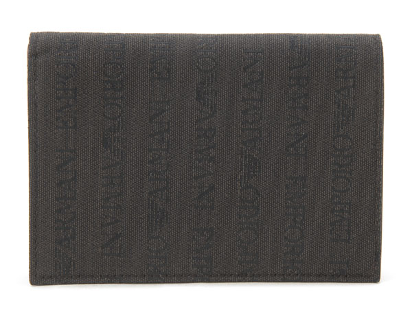 エンポリオ アルマーニ EMPORIO ARMANI 二つ折り財布 YEMF07-YCF04-88209 ブラウン メンズ財布 新品