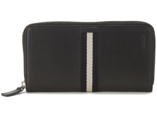 バリー BALLY 財布 ブラック TASYO-290 ラウンドファスナー 長財布 新品
