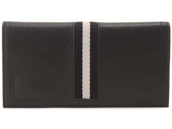 バリー BALLY TALIRO-290 二つ折り長財布 ブラック 新品