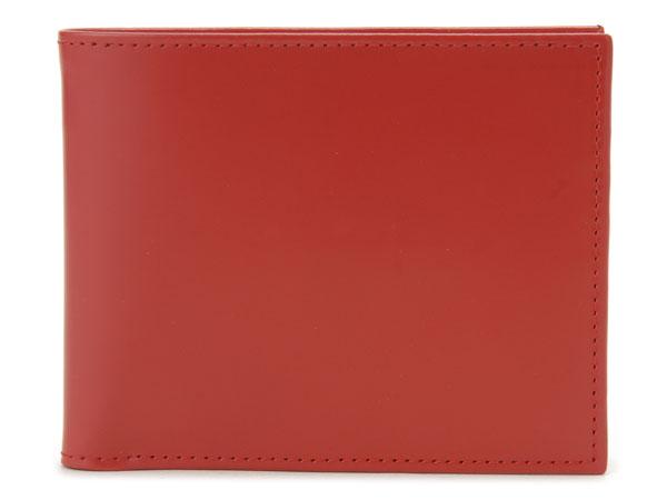 ETTINGER エッティンガー 二つ折り財布 BH141JR-RED ブライドルレザー財布 レッド×イエロー メンズ
