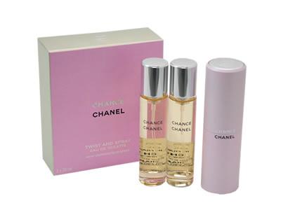 シャネル CHANEL チャンス ツイスト オードトワレ EDT SP 20ml SP レフィルx2 香水 フレグランス コスメ 新品