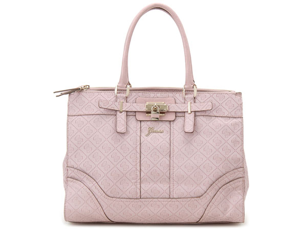 Guess Tote Bag Sg452623 Pink Womens 10p12oct14