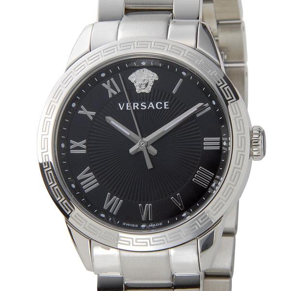 ヴェルサーチ VERSACE レディース 腕時計 P6Q99FD008S099 クォーツ ブラック/シルバー P5SP