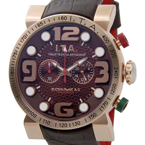 I.T.A アイ・ティ・エー 腕時計 メンズ 18.00.06 ニューモデル ビーコンパックス2.0 ブラウン 新品