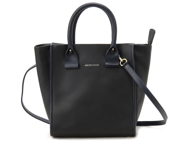 See By Chloe Tote Bag 9s7518 P22 A23 April Leather Shoulder Black
