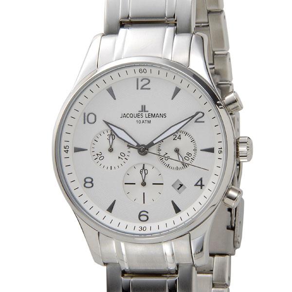 ジャックルマン JACQUES LEMANS メンズ 腕時計 1-1654J ケビンコスナー・アンバサダー・モデル ロンドン クロノグラフP10SP