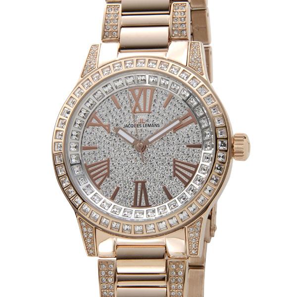 ジャックルマン JACQUES LEMANS 腕時計 メンズ 1-1798F ポルト 42mm スワロフスキー×ピンクゴールド コンビ 新品 【送料無料】 [ポイント5倍キャンペーン][8/3~8/17]