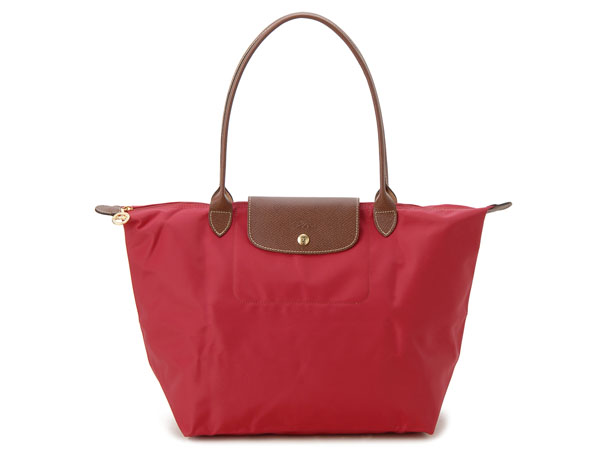 5858d6b28b568 s-select  Pliage bag shoulder bag red women s Longchamp tote bags ...