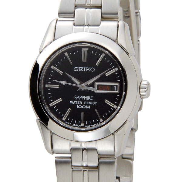 セイコー SEIKO SXA099P1 クオーツ ブラック×シルバー レディース 腕時計