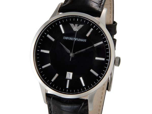 エンポリオ アルマーニ EMPORIO ARMANI 腕時計 メンズ AR2411 ブラック 新品 【送料無料】 [ポイント5倍キャンペーン][8/3~8/17]