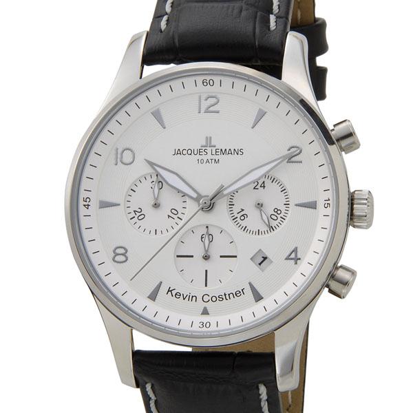 ジャックルマン JACQUES LEMANS 日本限定モデル メンズ 腕時計 11-1654B-1 ケビンコスナー・コレクション ロンドン クロノフラフ 新品 【送料無料】 [ポイント5倍キャンペーン][8/3~8/17]