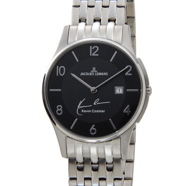 【NewYearSALE】割引セール ジャックルマン JACQUES LEMANS 日本限定モデル メンズ 腕時計 11-1781A-1 ケビンコスナー・コレクション ロンドン デイト 新品