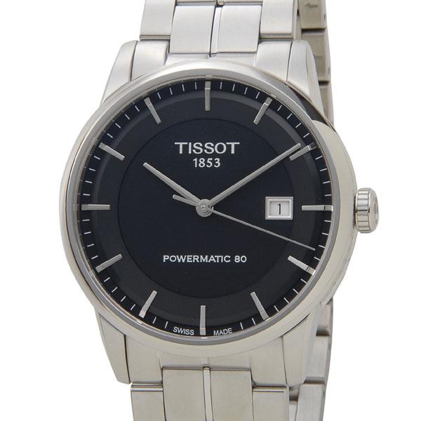 時計セール ティソ T086.407.11.051.00 腕時計 メンズ Tissot ラグジュアリー オートマチック ブラック 新品 セールアイテム