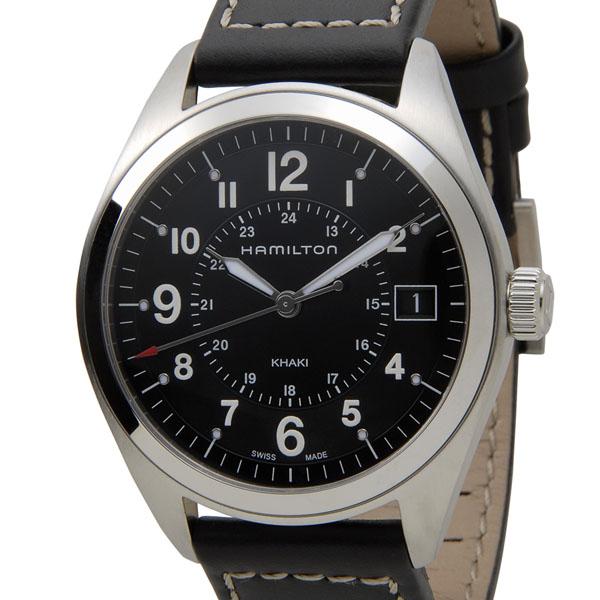 ハミルトン HAMILTON H68551733 カーキ フィールド クォーツ ブラック メンズ 腕時計 新品