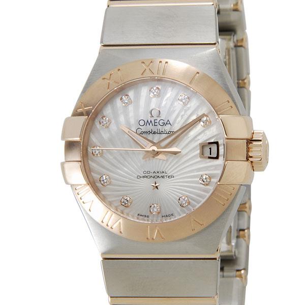 オメガ OMEGA 123.20.27.20.55.001 コンステレーション ブラッシュ ダイヤ レディース 腕時計 新品 当店5年保証 [ポイント5倍キャンペーン][8/3~8/17]