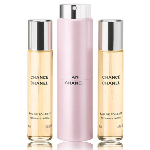 シャネル CHANEL チャンス チャンス ツィスト&スプレイ 20ml(リフィル 2本付き) レディース (香水/コスメ)