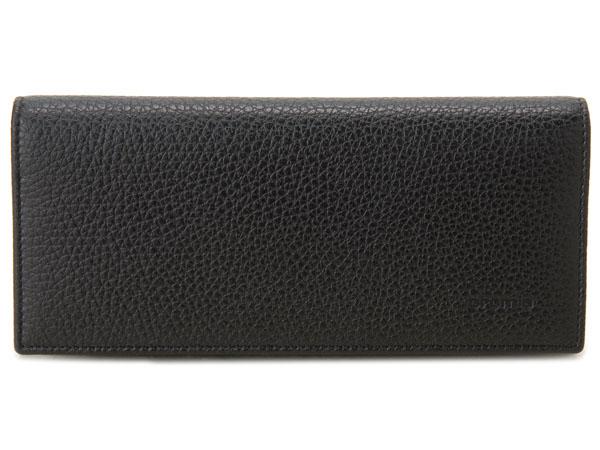 クロミア cromia 長財布 2400026-NER イタリアレザー ブラック×レッド P10SP
