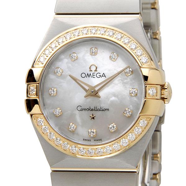 オメガ OMEGA コンステレーション ブラッシュ 123.25.27.60.55.003 12ポイントダイヤ レディース 腕時計