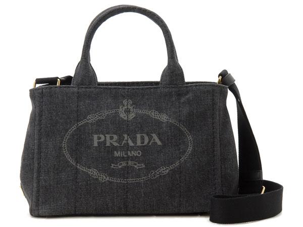 プラダ PRADA トートバッグ 1BG439 AJ6 F0002 CANAPA カナパ 2WAY ショルダーバッグ ブラック 新品