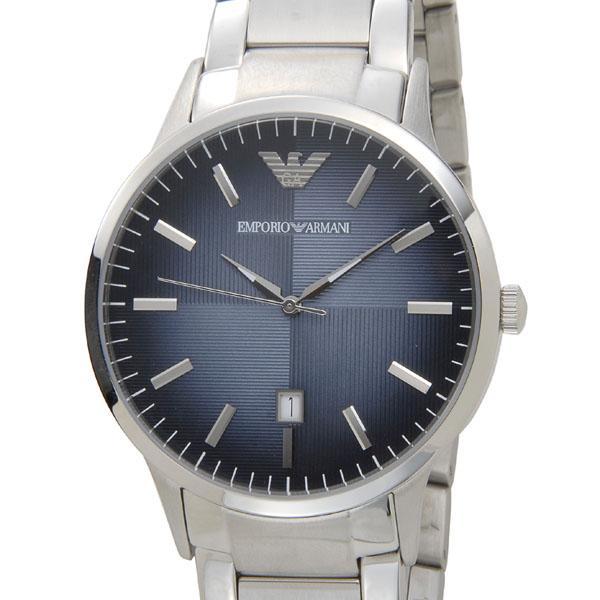 エンポリオアルマーニ EMPORIO ARMANI 腕時計 AR2472 クラシック ネイビーブルー メンズ 新品