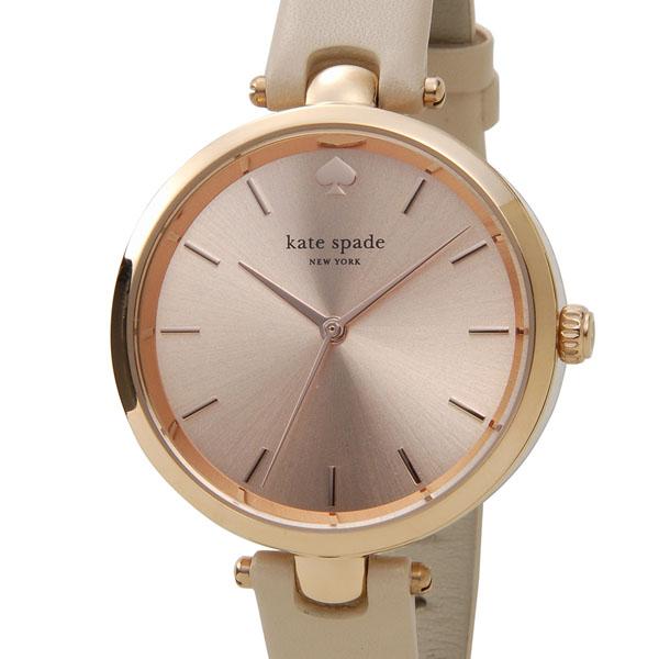 ケイトスペード kate spade 時計 1YRU0812 ホランド ローズゴールド×ピンクベージュ革ベルト レディース 腕時計 P10SP