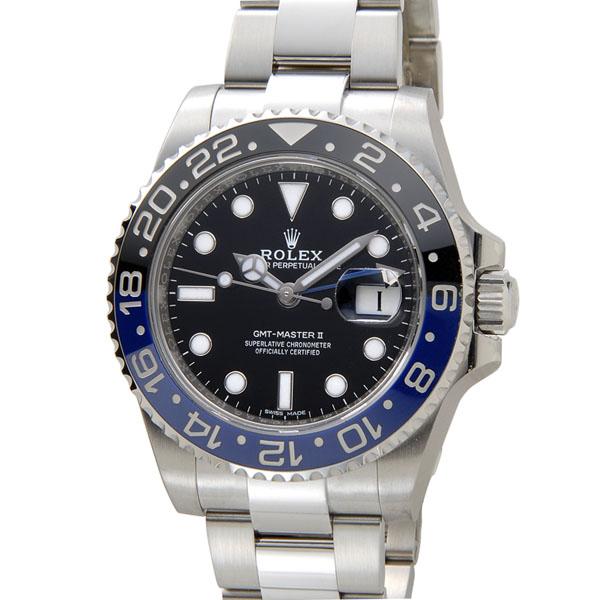ロレックス ROLEX GMTマスターII 116710 BLNR 黒×青 メンズ 腕時計 新品 送料・代引手数料無料