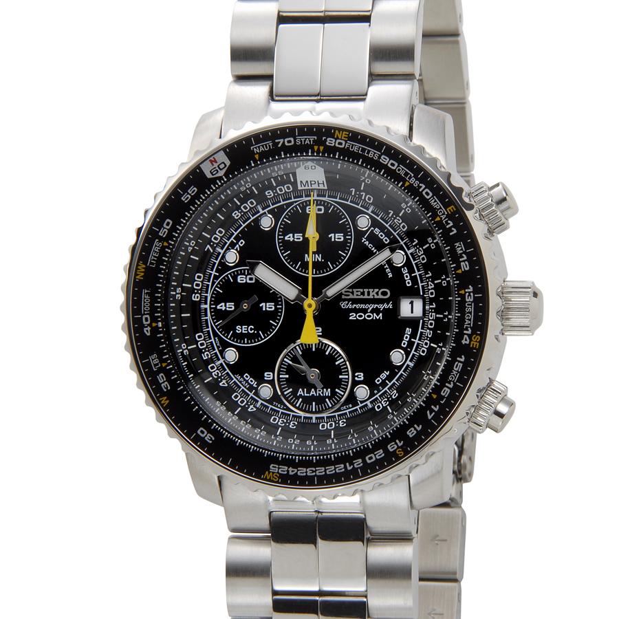 セイコー SEIKO 海外モデル パイロットクロノ SNA411P1 メンズ時計【smtb-m】 セイコーウオッチ P5SP