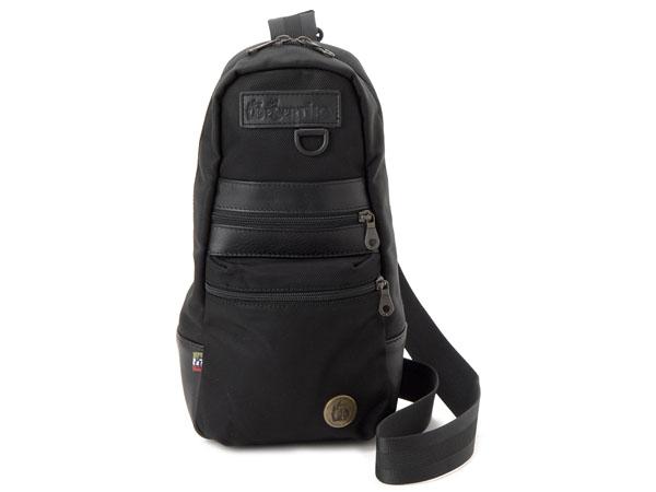 デザルティカ DESERTIKA ボディバッグ CITYWOLF-LH 斜め掛けショルダーバッグ ブラック メンズ 新品