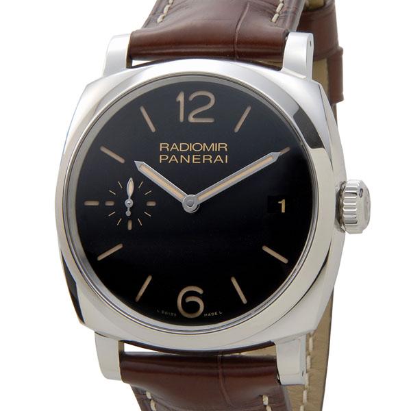 パネライ PANERAI 時計 PAM00514 ラジオミール 1940 3デイズ ブラック×ブラウン メンズ 腕時計