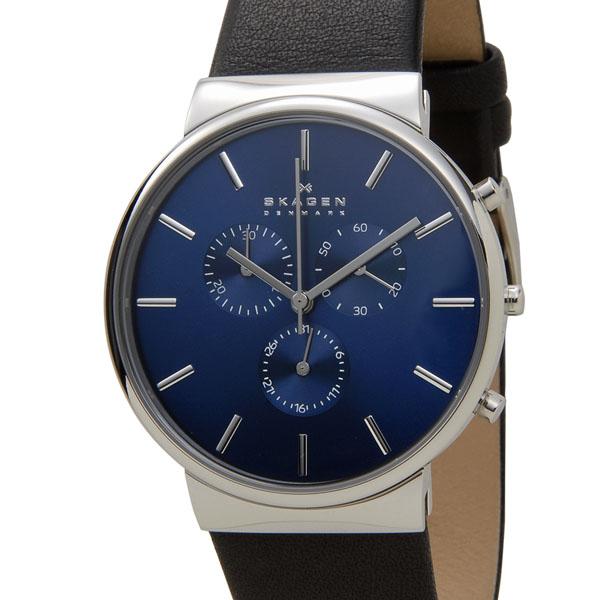 スカーゲン SKAGEN 腕時計 SKW6105 アンカー クロノグラフ ブルー メンズ 時計 新品