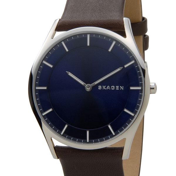 スカーゲン SKAGEN 腕時計 SKW6237 ホルスト スリム ネイビー メンズ 時計 新品