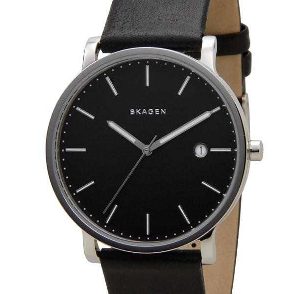 訳あり 展示品の為にベルトに小さなキズあり スカーゲン SKAGEN 腕時計 SKW6294 ハーゲン ブラック メンズ 時計 新品