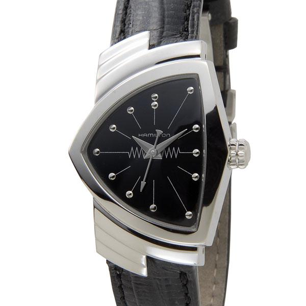 ハミルトン HAMILTON ベンチュラ H24211732 ブラック レディース 腕時計 P5SP