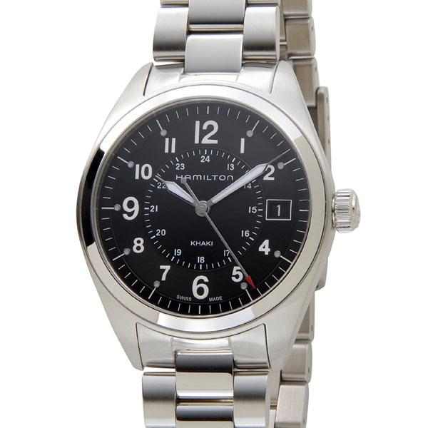 ハミルトン HAMILTON カーキ フィールド H68551933 ブラック メンズ 腕時計【送料無料】【新品】 新品