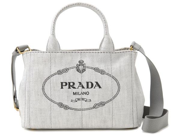 プラダ PRADA トートバッグ 1BG439 AJ6 F0009 CANAPA カナパ 2WAY ショルダーバッグ ビアンコ 新品
