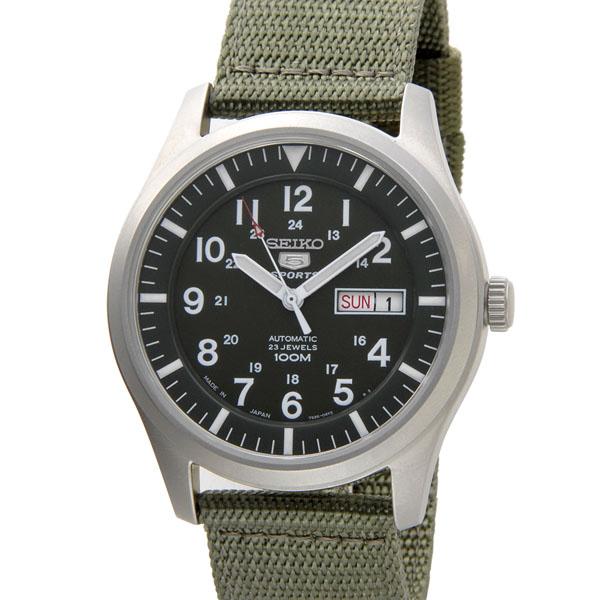 セイコー SEIKO 腕時計 メンズ SNZG09J1 SEIKO5 SPORTS セイコーファイブスポーツ ミリタリー P10SP