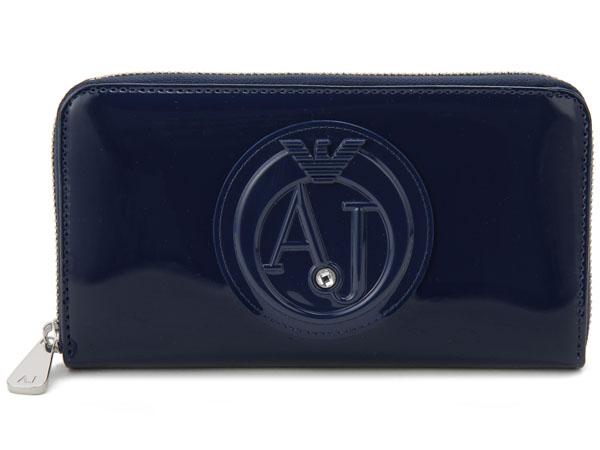 アルマーニジーンズ ARMANI JEANS ラウンドファスナー長財布 928532-CC855-00335 ブルー 新品