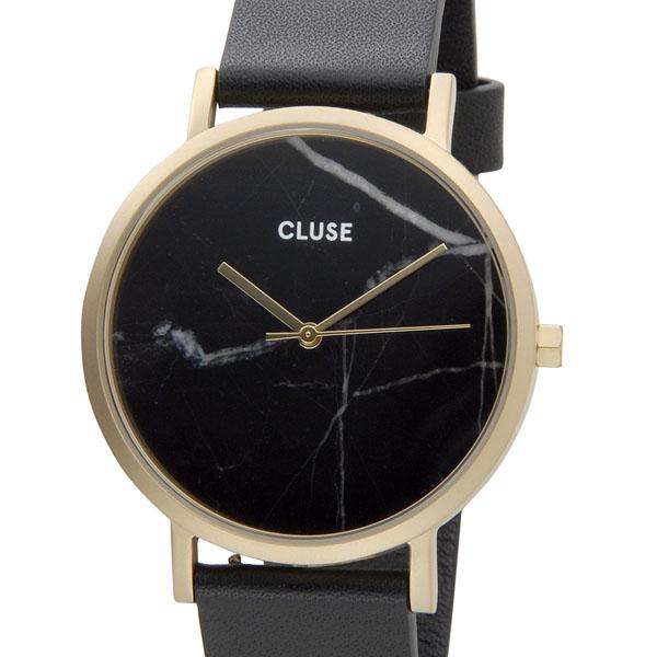 クルース CLUSE レディース 腕時計 CL40004 38mm LA ROCHE ラロッシュ 大理石モデル ゴールド×ブラック P10SP