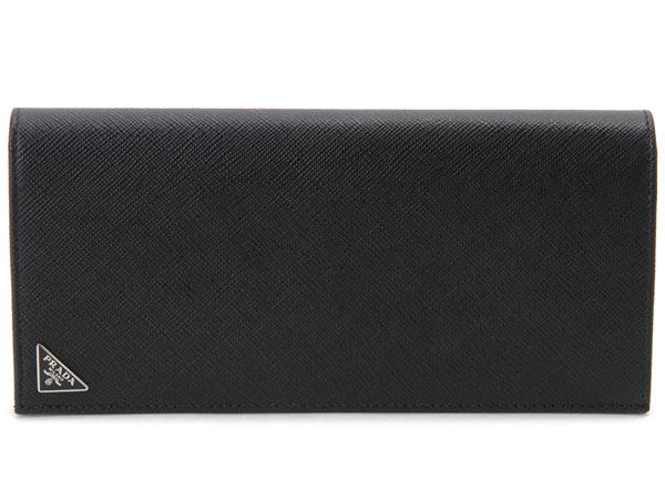 プラダ 長財布 PRADA 2MV836-QHH-F0002 SAFFIANO サフィアーノ ブラック 新品