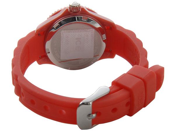ICE WATCH アイスウォッチ 腕時計 000787 ICE mini MN.RD.M.S.12 アイス ミニ 30mm レッド ユニセックス (キッズ)P10SP