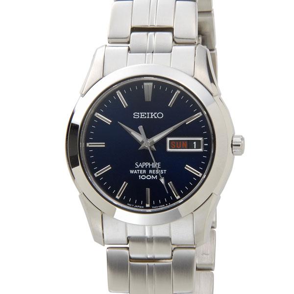 SEIKO セイコー メンズ 腕時計 SGG717P1 クオーツ 逆輸入 海外モデル ネイビー 新品 【送料無料】 [ポイント5倍キャンペーン][8/3~8/17]