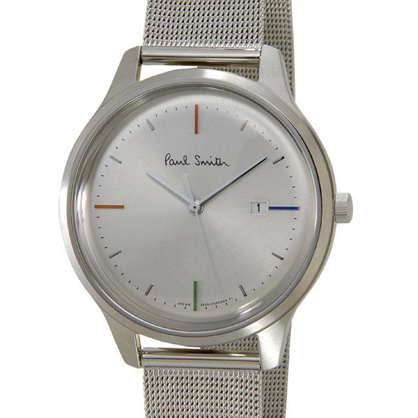 ポールスミス Paul Smith メンズ 時計 腕時計 BC5-415-11 The City ザ・シティ シルバー 替えベルト付き ブティックモデル 新品