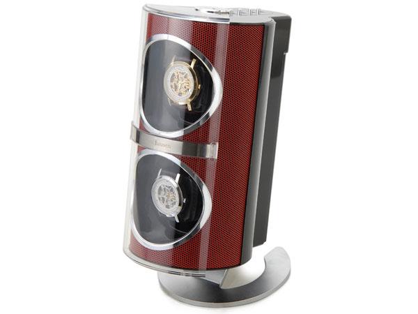 Royal hausen ロイヤルハウゼン ワインディングマシーン SR091RD 2本巻 メタリック ウォッチワインダー レッド 2年保証 新品