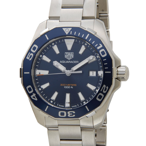 TAGHEUER タグホイヤー 腕時計 WAY111C.BA0928 AQUARACER アクアレーサー 300M ブルー メンズ P5SP