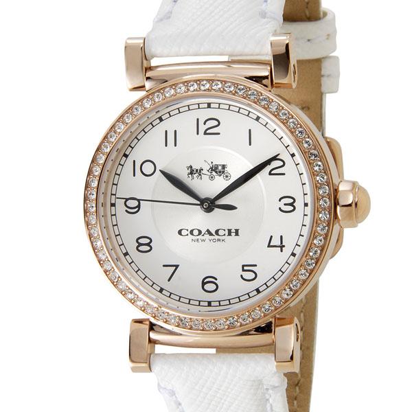 COACH コーチ レディース 腕時計 14502401 MADISON FASHION マディソン ファッション ホワイト DEAL P5SP